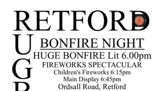 East Retford Rugby Union Football Club Bonfire Night 2019