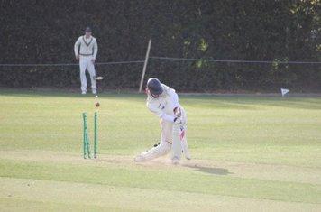Adam Dyke goes first ball