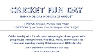 HOBSON BREWERY'S 6-A-SIDE FUN DAY MONDAY 29TH AUGUST