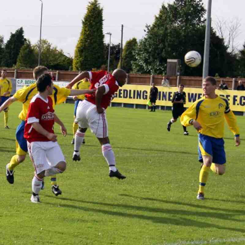 Gedling MW Vs Hinckley FC