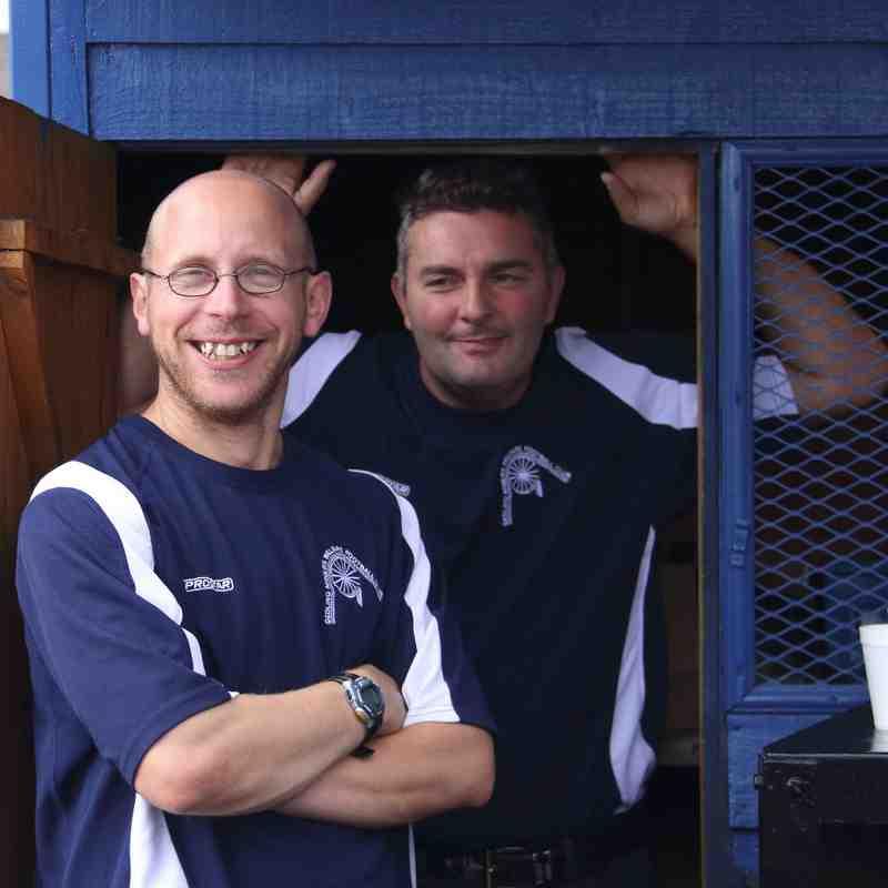 Gedling MW at home to Ellistown & Ibstock United - Season 2014-15
