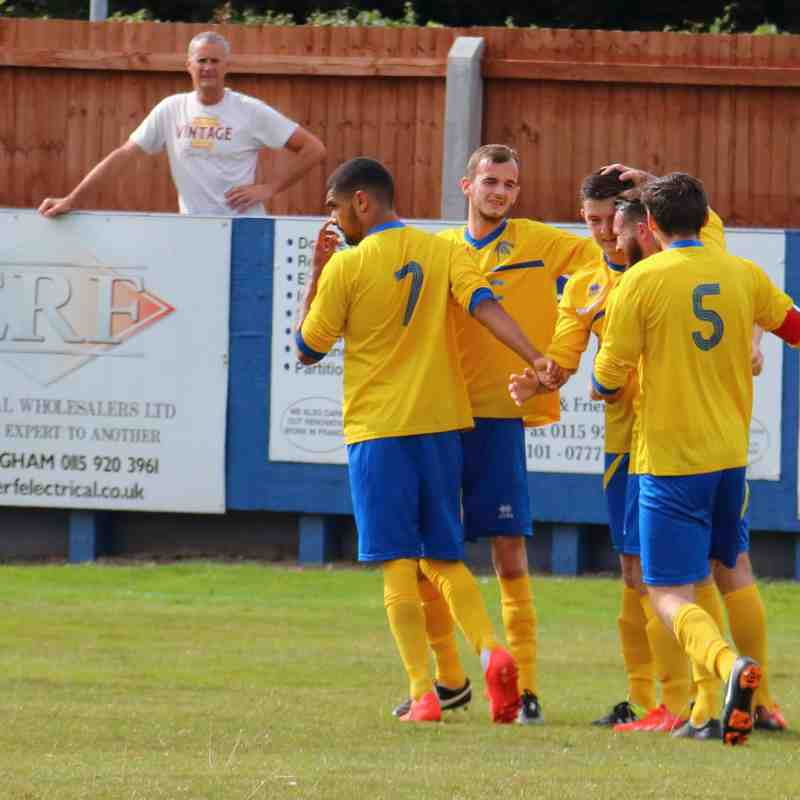 Gedling MW at home to Blaby & Whetstone - 2015-16 Season
