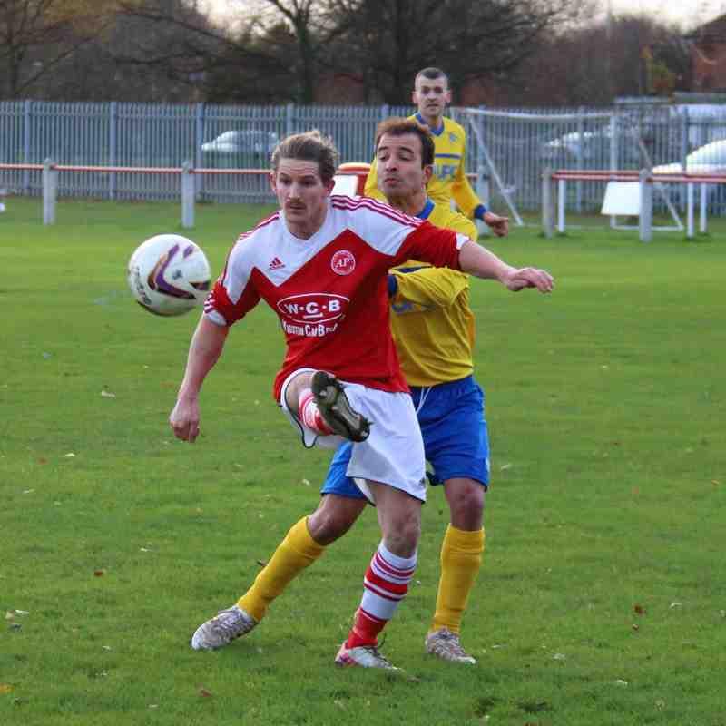 Gedling MW away at Aylestone Park- 2015-16 Season