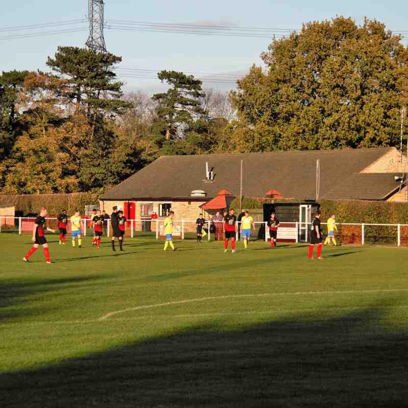 Gedling MW away to Barrow Town 2017-18 Season