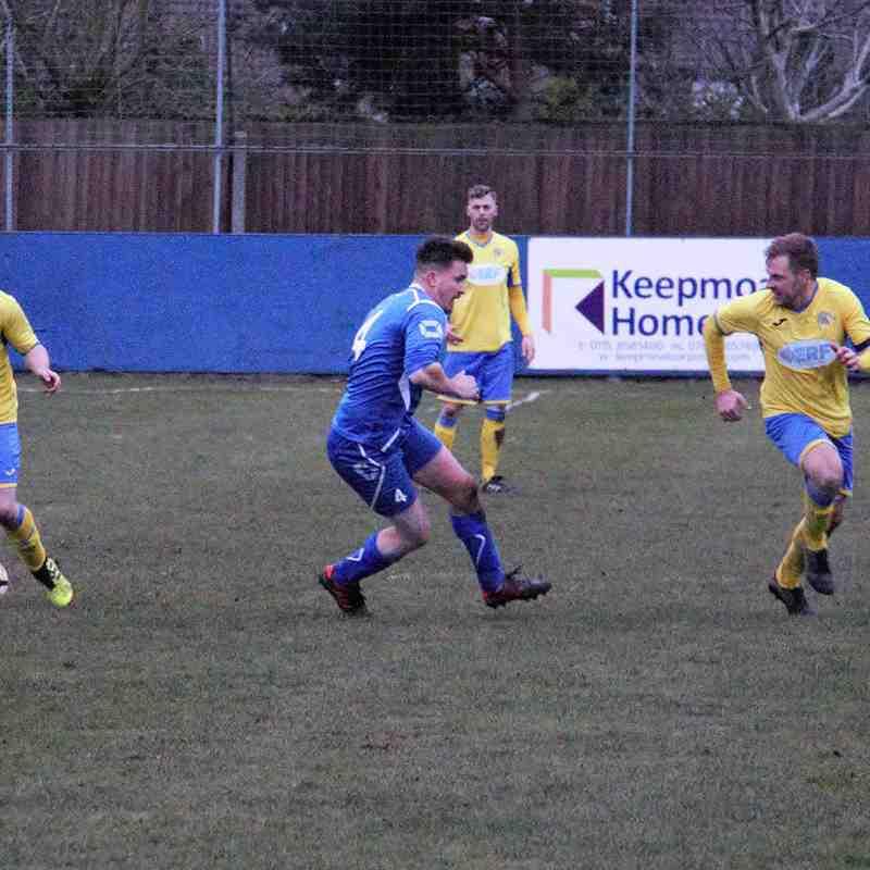 Gedling MW at home to West Bridgford FC - 2018-19 Season