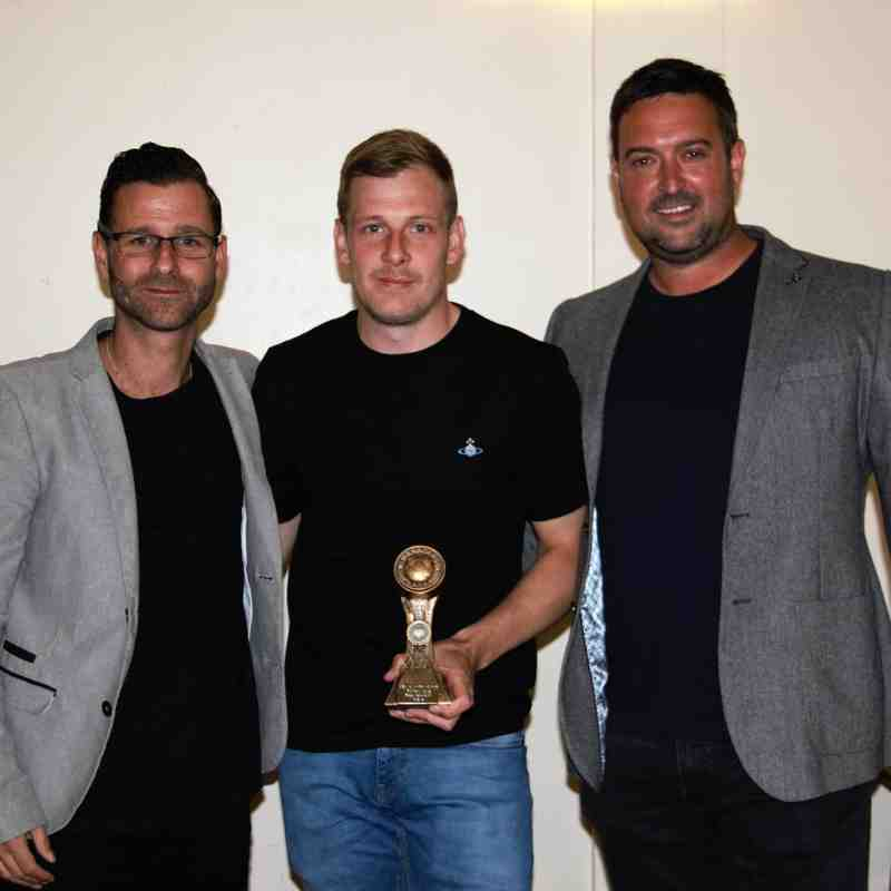 Ross McCaughey - Manager's Player of the season