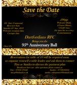 Dartfordians RFC 95th Anniversary Dinner & Dance