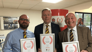 Volunteers Win Mitsubishi Awards...