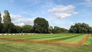 New Main Pitch Looking Great....