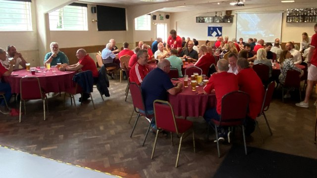 Fez & Supporters Pre Match Lunch - Colfeians
