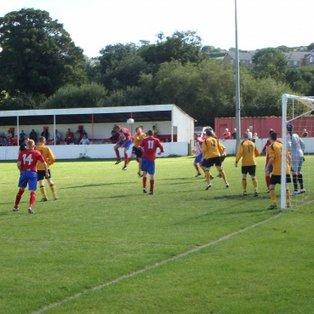Holywell Town 1 - 2 Llanberis