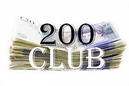 *** 200 Club - April Draw - for payments received in March***