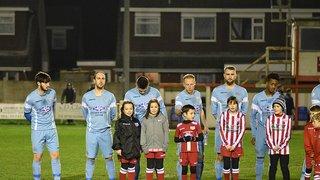 Prestatyn Town 1-0 Holywell Town. 11th January 2019 Lee Douglas