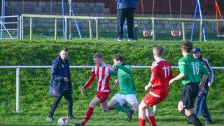 Holywell Town U19's 6-0 Penyffordd U19's, 10th Feb 2019 (Lee Douglas)