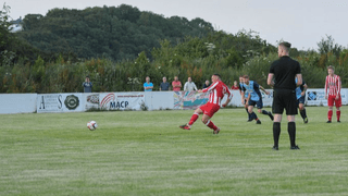 Town victorious in local derby friendly