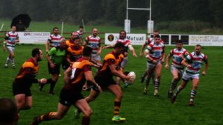 Once again the weather and injuries in addition to good home defence result in defeat on  IoM