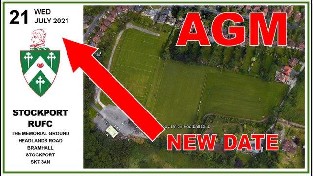 SRUFC 2021 AGM Notice - (Rescheduled)
