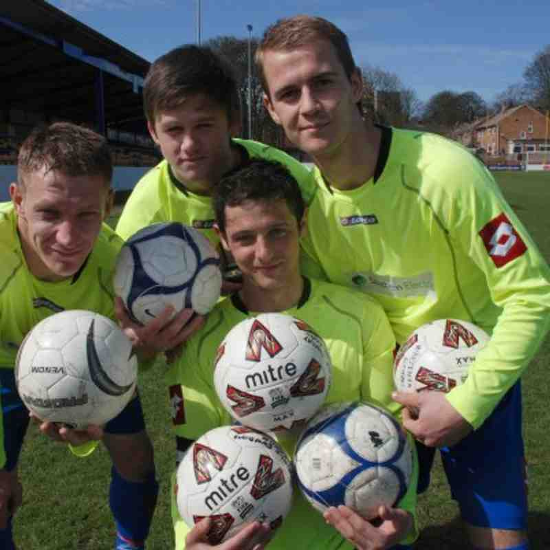 Kinsley cup final goalscorers.