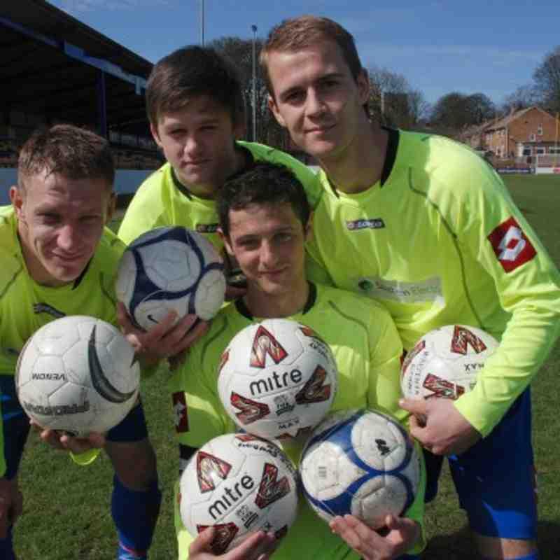 Kinsley cup final goalscorers.