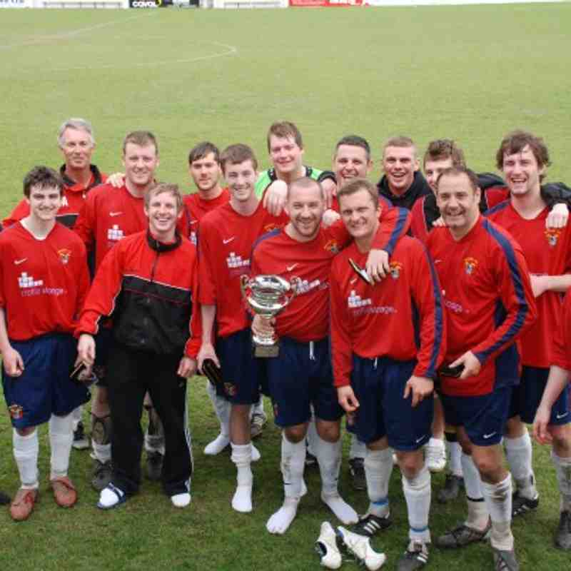 Premier Division Cup Winners Redoubt.