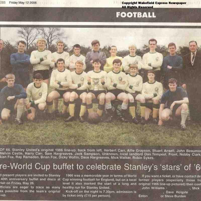 Stanley United 1966