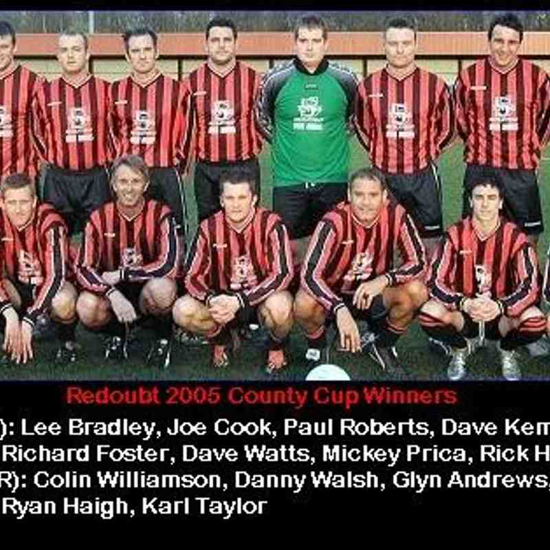 Redoubt 2005 County Cup Winners
