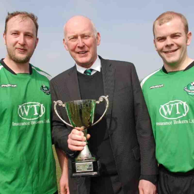 A triumphant trio! 