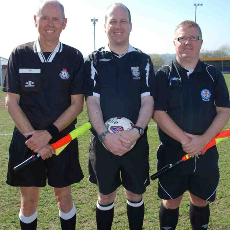 Division Three Cup Final Officials;