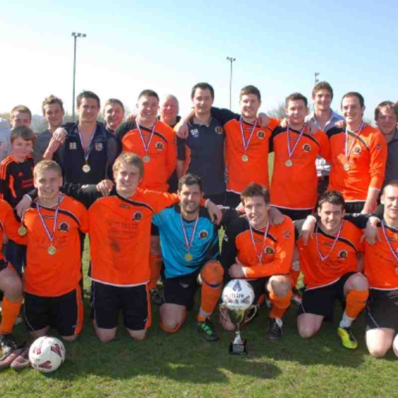 Division Three Cup Winners 2011-2012 Comrades FC