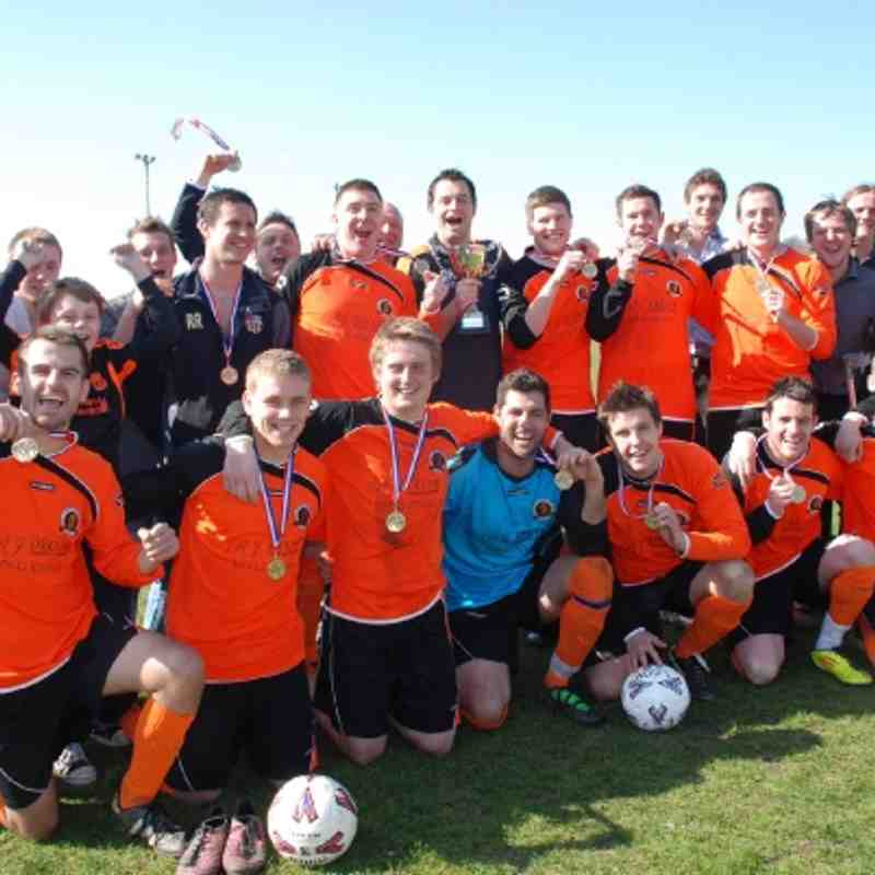 Division Three Cup Winners 2011-2012