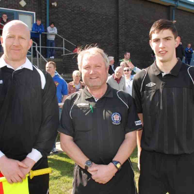 Division Two League Cup Final Match Officials 2012