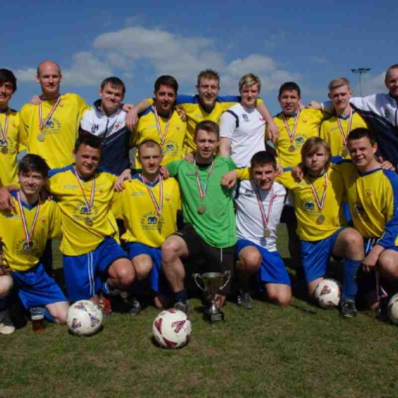 Division Two League Cup Winners 2012 - Crofton Colts.