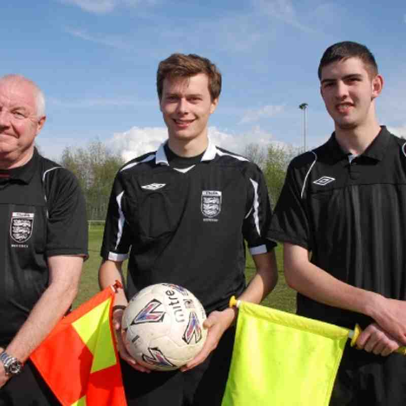 Supplementary Cup Final Match Officials