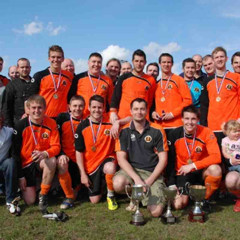 Treble winning Comrades after what can only be described as a 'succesful' debut season.