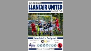 Penryhncoch Matchday Programme