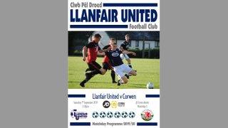 Corwen Matchday Programme