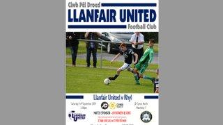 Rhyl Matchday Programme