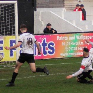 Llanfair hit for seven by Lilywhites