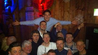 Scarisbrick Hall FC Christmas Night Out 2013