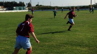 21.9.14 - Scarisbrick Hall FC 1 - 1 The Grapes FC