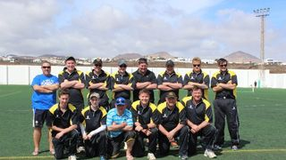 The Gentlemen of Rickmansworth - Lanzarote International T20 Winners 2014