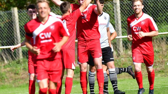 Rustell Hat trick secures the points