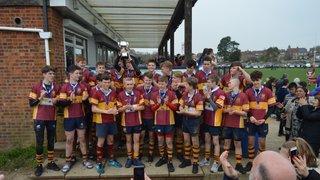 Dartfordians u15s - Kent Cup winners 2017