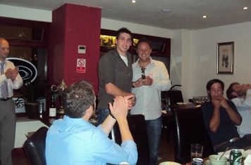 1st Team Golden Boot winner - Lee (21 goals)