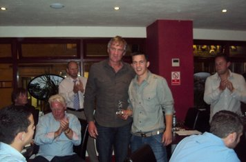 1st Team Manager's Player of the Year - Rob