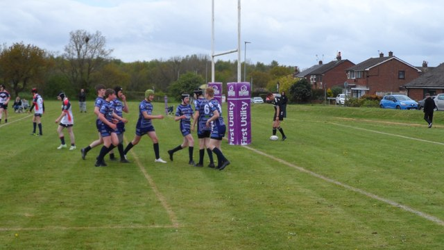 Under 14's show courage to fight back in a great game of Rugby League