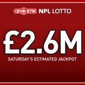 Huge £2.6m jackpot this Saturday!
