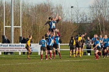 Cleve RFC Vs Berry Hill RFC   28 Jan 2012