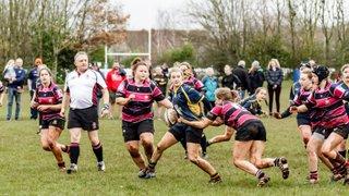 6 Dec 15 Cleve RFC ladies U18 v Worcester RFC Ladies U18