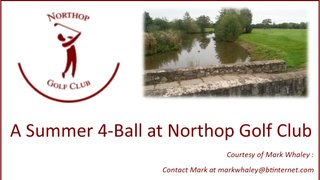 Win a 4-Ball at Northop Golf Course